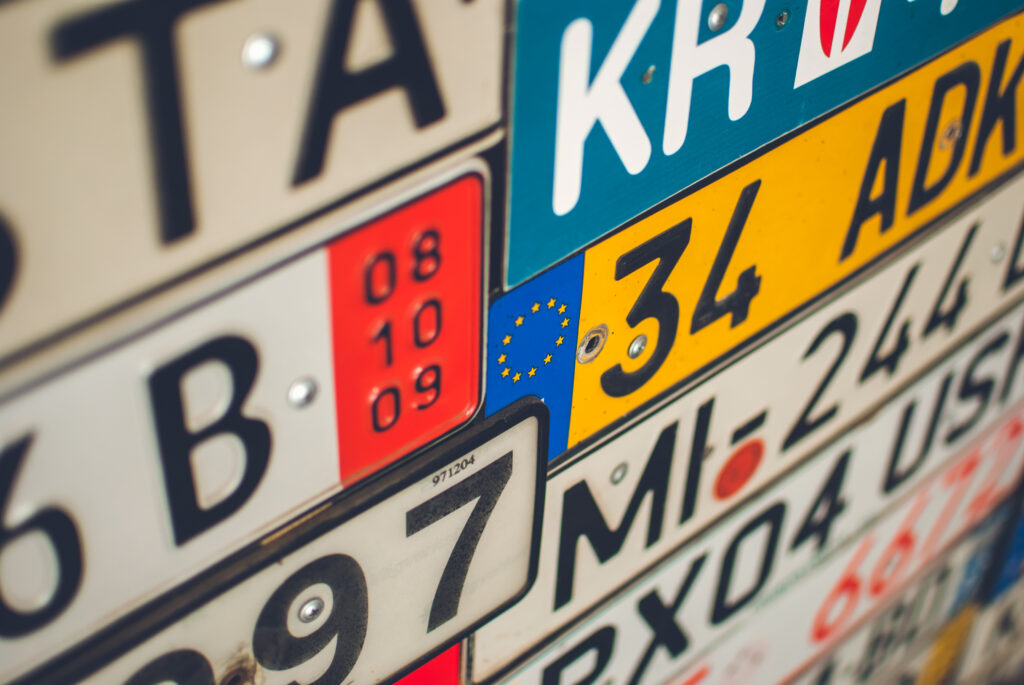 Rejestracja pojazdów